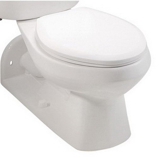 mansfield 149 quantum 1 gpf vitreous china toilet bowl only white