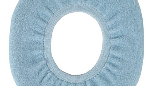 Home X Snug And Warm Toilet Seat Cover Blue Single